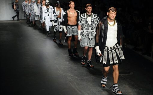 Men's Fashion: Looking Stupid On The Runway