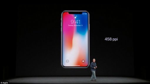 The $1,000 (£1,000) iPhone X: Apple finally reveals its best ever smartphone with FaceID, 5.8inch edge-to-edge display, wireless charging and NO home button